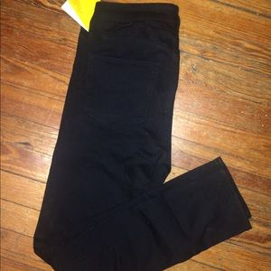 H&M black high waisted jeans